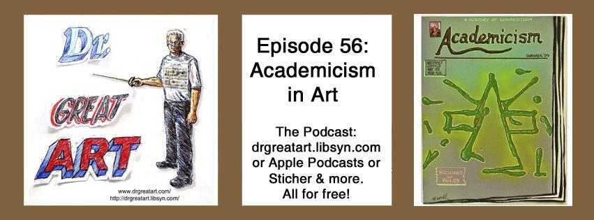 Kunstgeschichte Podcast in Englisch: Academicism in Art